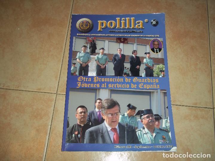 REVISTA POLILLA BOLETIN ANTIGUOS ALUMNOS DE LOS COLEGIOS DE LA GUARDIA CIVIL Nº 389 AÑO 2010 (Militar - Revistas y Periódicos Militares)