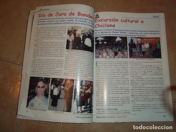 Militaria: REVISTA POLILLA BOLETIN ANTIGUOS ALUMNOS DE LOS COLEGIOS DE LA GUARDIA CIVIL Nº 389 AÑO 2010 - Foto 2 - 72332395