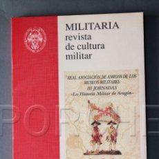 Militaria: MILITARIA REVISTA DE CULTURA MILITAR, Nº 12 1998-SERVICIO DE PUBLICACIONES UNIVERSIDAD COMPLUTENSE. Lote 72416135