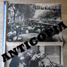 Militaria: GUERRA CIVIL - AGUSTÍ CENTELLES - EL DIA GRAFICO 23 JULIO 1936 - BARCELONA - REVISTA ORIGINAL. Lote 69098037