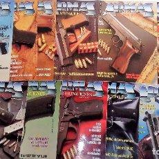 Militaria: ARMAS Y MUNICIONES LOTE DE 11 REVISTAS (DEL Nº 45 AL 55) BUEN ESTADO. Lote 74033231