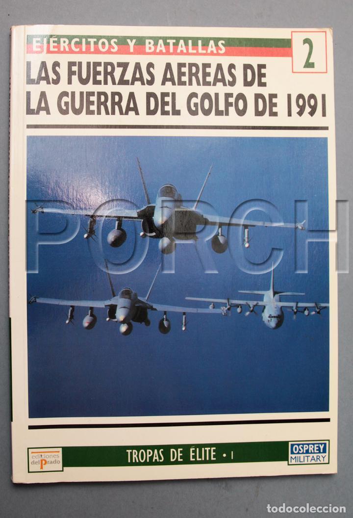 LAS FUERZAS AÉREAS DE LA GUERRA DEL GOLFO 1991-EJÉRCITOS Y BATALLAS- OSPREY-TROPAS DE ÉLITE (Militar - Revistas y Periódicos Militares)