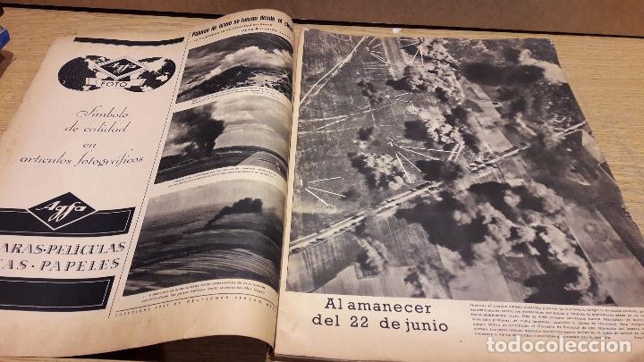 Militaria: SIGNAL. 1ER NUM AGOSTO DE 1941. VORWÄRTS. CON DESGASTE DE LA ÉPOCA. - Foto 2 - 75147863