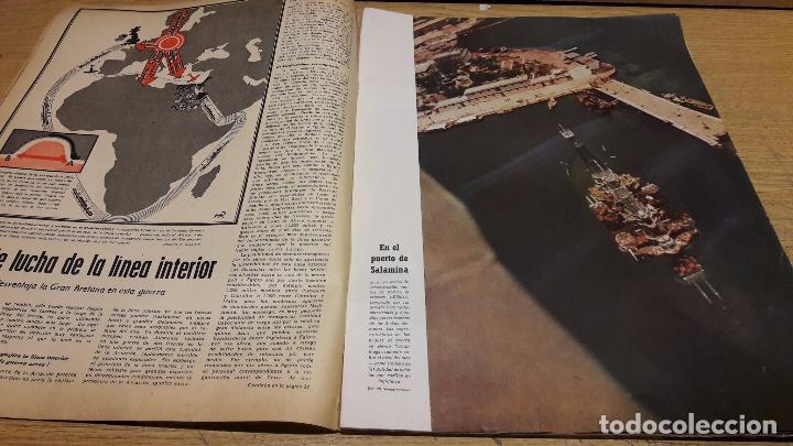 Militaria: SIGNAL. 1ER NUM AGOSTO DE 1941. VORWÄRTS. CON DESGASTE DE LA ÉPOCA. - Foto 3 - 75147863