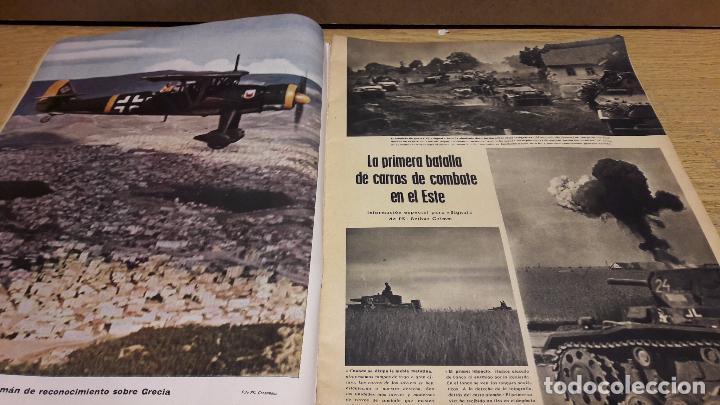 Militaria: SIGNAL. 1ER NUM AGOSTO DE 1941. VORWÄRTS. CON DESGASTE DE LA ÉPOCA. - Foto 4 - 75147863