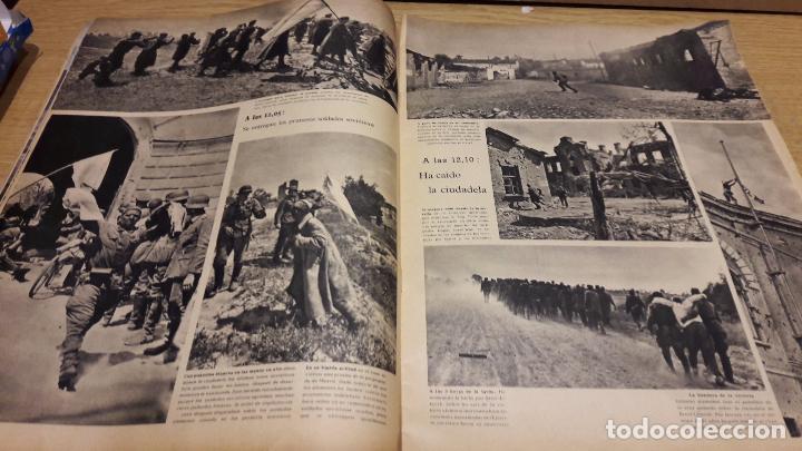 Militaria: SIGNAL. 1ER NUM AGOSTO DE 1941. VORWÄRTS. CON DESGASTE DE LA ÉPOCA. - Foto 5 - 75147863