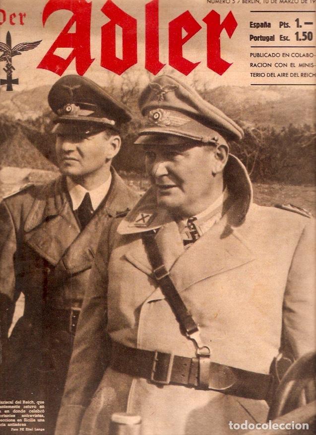 REVISTA DER ADLER Nº5 1942 EDICION ESPAÑOLA (Militar - Revistas y Periódicos Militares)