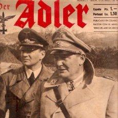 Militaria: REVISTA DER ADLER Nº5 1942 EDICION ESPAÑOLA. Lote 215911578