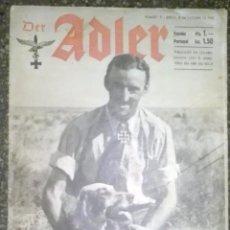 Militaria: REVISTA ADLER Nº 21 DE 1942. Lote 75656175