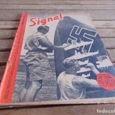 Militaria: REVISTA SIGNAL EDICION FRANCESA 2ª GUERRA MUNDIAL Nº 14 AÑO 1941. Lote 75680187