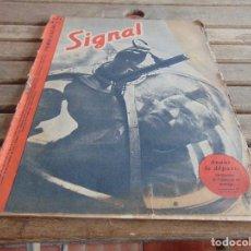 Militaria: REVISTA SIGNAL EDICION FRANCESA 2ª GUERRA MUNDIAL Nº 9 AÑO 1942. Lote 75686567