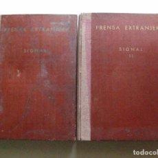 Militaria: SIGNAL 1940 1941 SIEG IM WESTEN ARCHIVO DEL S.E.U. SINDICATO CREADO POR FALANGE J.A. PRIMO DE RIVERA. Lote 76017511