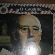 Militaria: EL CAUDILLO FRANCO REVISTA ANTIGUA CON CARTEL AVISADOR AL VENDEDOR. Lote 76757919