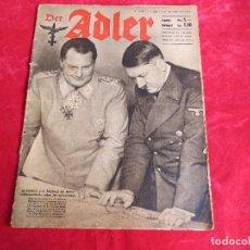 Militaria: REVISTA DER ADLER - NUMERO 8 - BERLIN 21 ABRIL 1942. Lote 95867380