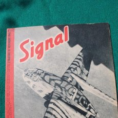 Militaria: SIGNAL Nº 22 DE 1943 EDICIÓN FRANCESA. Lote 80021281