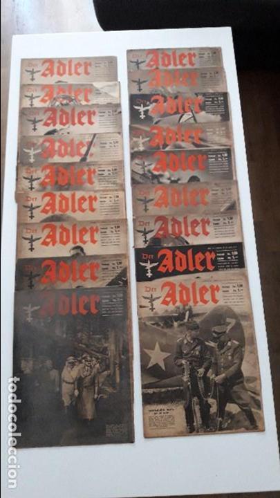 REVISTAS DER ADLER (Militar - Revistas y Periódicos Militares)