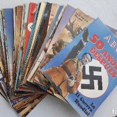 Militaria: 93 FASCICULOS COLECCIÓN DIARIO ABC SEGUNDA GUERRA MUNDIAL. 1989.. Lote 80336245
