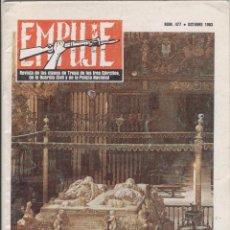 Militaria: EMPUJE. REVISTA DE LAS CLASES DE TROPA DE LOS 3 EJERCITOS, DE LA GC Y LA PN. Nº 477. OCTUBRE 1983. Lote 80756662