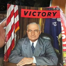 Militaria: VICTORY REVISTA AMERICANA 1945. Lote 80769402