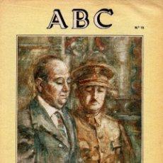 Militaria: SUPLEMENTO ABC, VIDA DE FRANCO Nº15. Lote 81223012