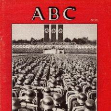 Militaria: SUPLEMENTO ABC, VIDA DE FRANCO Nº34. Lote 81228324