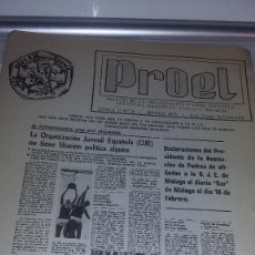 Militaria: PROEL BOLETÍN OJE, EPOCA II Nº 2 MARZO 1979 REF. EST. 8. Lote 82496860