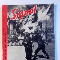 REVISTA SIGNAL Nº 1 1940 EN ESPAÑOL Corresponsales de guerra alemanes en el Frente