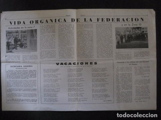 Militaria: HISPANIA- REVISTA DEPORTADOS E INTERNADOS POLITICOS - NUM. 32 - AÑO 1969 - VER FOTOS-(V- 10.931) - Foto 3 - 86156088