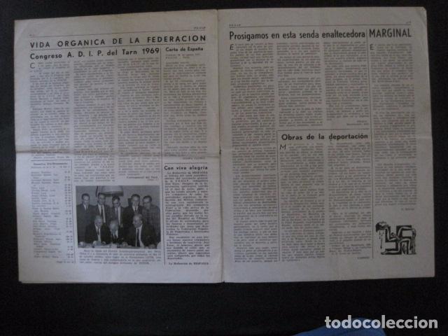 Militaria: HISPANIA- REVISTA DEPORTADOS E INTERNADOS POLITICOS - NUM. 32 - AÑO 1969 - VER FOTOS-(V- 10.931) - Foto 4 - 86156088