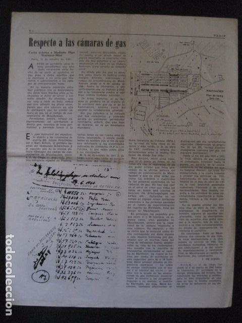 Militaria: HISPANIA- REVISTA DEPORTADOS E INTERNADOS POLITICOS - NUM. 32 - AÑO 1969 - VER FOTOS-(V- 10.931) - Foto 5 - 86156088