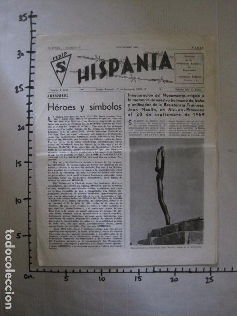 Militaria: HISPANIA- REVISTA DEPORTADOS E INTERNADOS POLITICOS - NUM. 32 - AÑO 1969 - VER FOTOS-(V- 10.931) - Foto 6 - 86156088