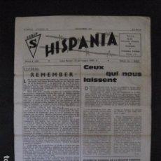 Militaria: HISPANIA- REVISTA DEPORTADOS E INTERNADOS POLITICOS - NUM. 36 - AÑO 1970 - VER FOTOS-(V- 10.932). Lote 86156152
