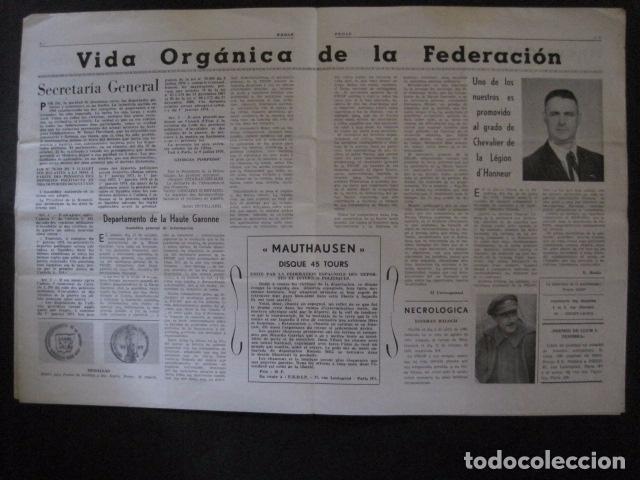 Militaria: HISPANIA- REVISTA DEPORTADOS E INTERNADOS POLITICOS - NUM. 36 - AÑO 1970 - VER FOTOS-(V- 10.932) - Foto 3 - 86156152