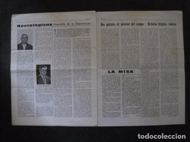 Militaria: HISPANIA- REVISTA DEPORTADOS E INTERNADOS POLITICOS - NUM. 36 - AÑO 1970 - VER FOTOS-(V- 10.932) - Foto 4 - 86156152