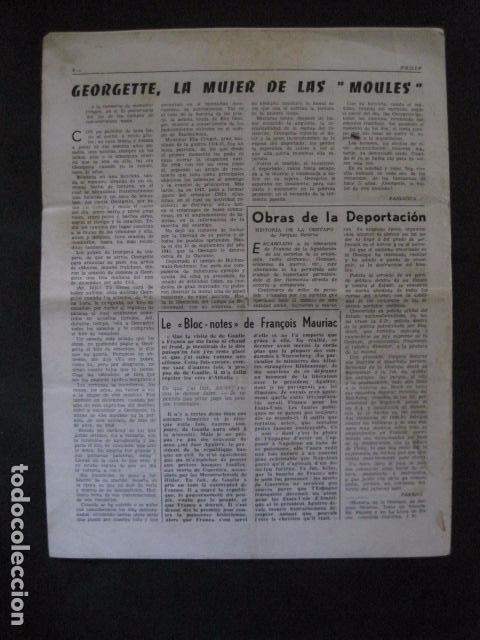 Militaria: HISPANIA- REVISTA DEPORTADOS E INTERNADOS POLITICOS - NUM. 36 - AÑO 1970 - VER FOTOS-(V- 10.932) - Foto 5 - 86156152
