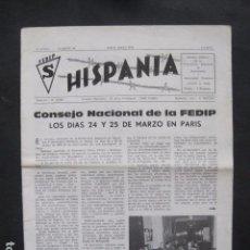 Militaria: HISPANIA- REVISTA DEPORTADOS E INTERNADOS POLITICOS - NUM. 64- AÑO 1979 - VER FOTOS-(V- 10.934). Lote 86156316