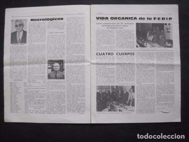 Militaria: HISPANIA- REVISTA DEPORTADOS E INTERNADOS POLITICOS - NUM. 64- AÑO 1979 - VER FOTOS-(V- 10.934) - Foto 3 - 86156316