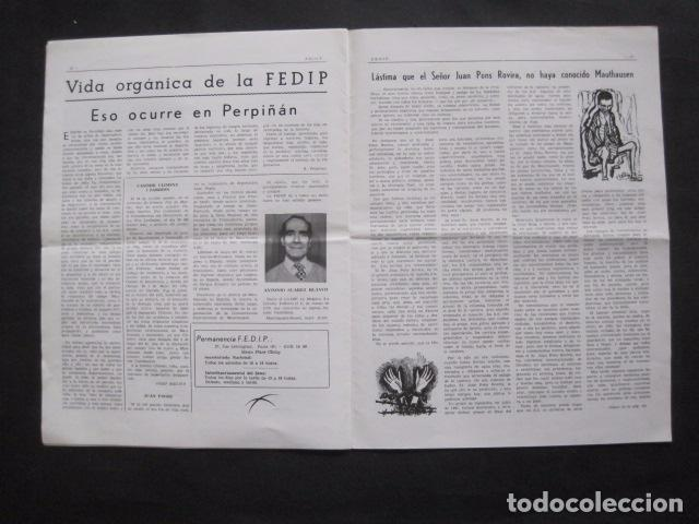 Militaria: HISPANIA- REVISTA DEPORTADOS E INTERNADOS POLITICOS - NUM. 64- AÑO 1979 - VER FOTOS-(V- 10.934) - Foto 7 - 86156316