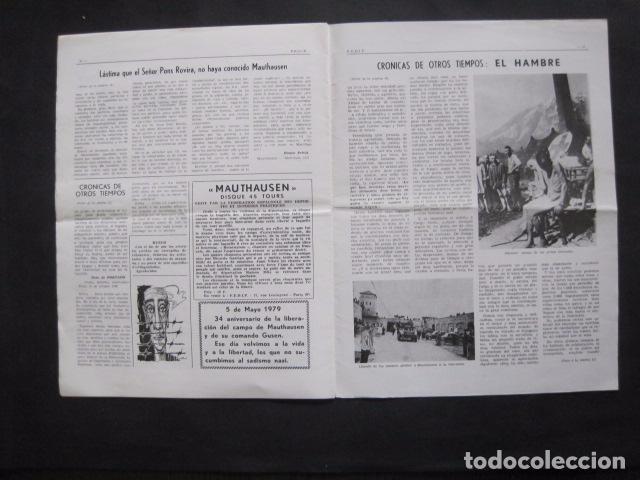 Militaria: HISPANIA- REVISTA DEPORTADOS E INTERNADOS POLITICOS - NUM. 64- AÑO 1979 - VER FOTOS-(V- 10.934) - Foto 8 - 86156316