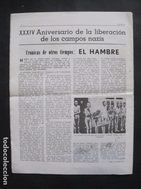Militaria: HISPANIA- REVISTA DEPORTADOS E INTERNADOS POLITICOS - NUM. 64- AÑO 1979 - VER FOTOS-(V- 10.934) - Foto 9 - 86156316