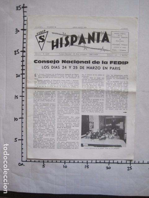 Militaria: HISPANIA- REVISTA DEPORTADOS E INTERNADOS POLITICOS - NUM. 64- AÑO 1979 - VER FOTOS-(V- 10.934) - Foto 10 - 86156316