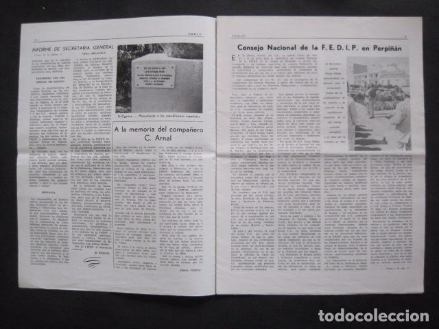 Militaria: HISPANIA- REVISTA DEPORTADOS E INTERNADOS POLITICOS - NUM. 76- AÑO 1982 - VER FOTOS-(V- 10.935) - Foto 2 - 86156544