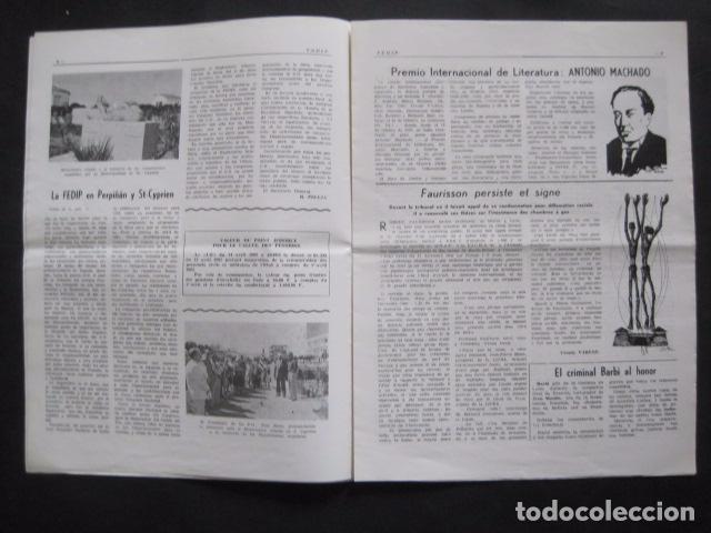 Militaria: HISPANIA- REVISTA DEPORTADOS E INTERNADOS POLITICOS - NUM. 76- AÑO 1982 - VER FOTOS-(V- 10.935) - Foto 3 - 86156544