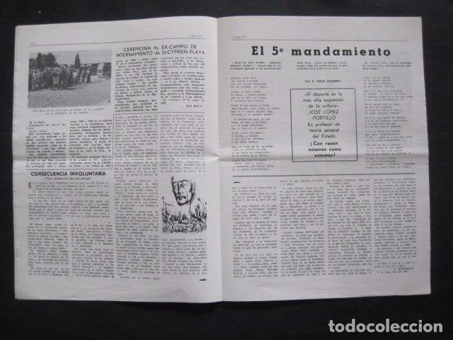 Militaria: HISPANIA- REVISTA DEPORTADOS E INTERNADOS POLITICOS - NUM. 76- AÑO 1982 - VER FOTOS-(V- 10.935) - Foto 4 - 86156544