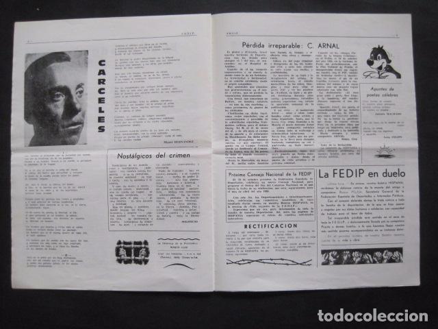 Militaria: HISPANIA- REVISTA DEPORTADOS E INTERNADOS POLITICOS - NUM. 76- AÑO 1982 - VER FOTOS-(V- 10.935) - Foto 5 - 86156544