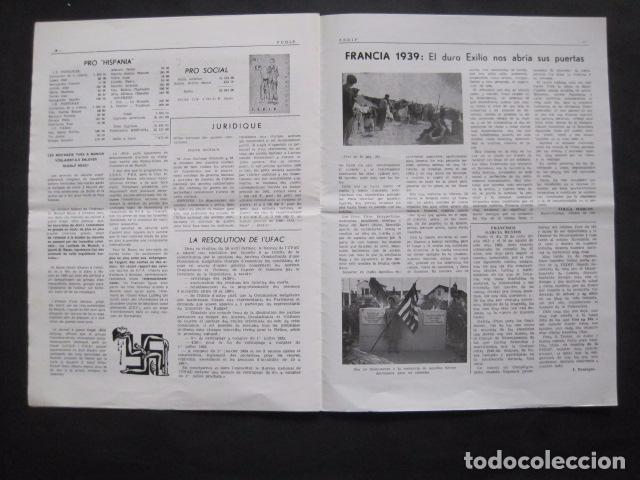 Militaria: HISPANIA- REVISTA DEPORTADOS E INTERNADOS POLITICOS - NUM. 76- AÑO 1982 - VER FOTOS-(V- 10.935) - Foto 6 - 86156544