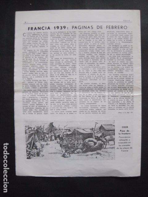 Militaria: HISPANIA- REVISTA DEPORTADOS E INTERNADOS POLITICOS - NUM. 76- AÑO 1982 - VER FOTOS-(V- 10.935) - Foto 7 - 86156544