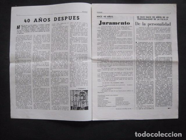 Militaria: HISPANIA- REVISTA DEPORTADOS E INTERNADOS POLITICOS - NUM. 83 - AÑO 1985 - VER FOTOS-(V- 10.936) - Foto 2 - 86157164