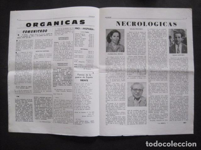 Militaria: HISPANIA- REVISTA DEPORTADOS E INTERNADOS POLITICOS - NUM. 83 - AÑO 1985 - VER FOTOS-(V- 10.936) - Foto 3 - 86157164