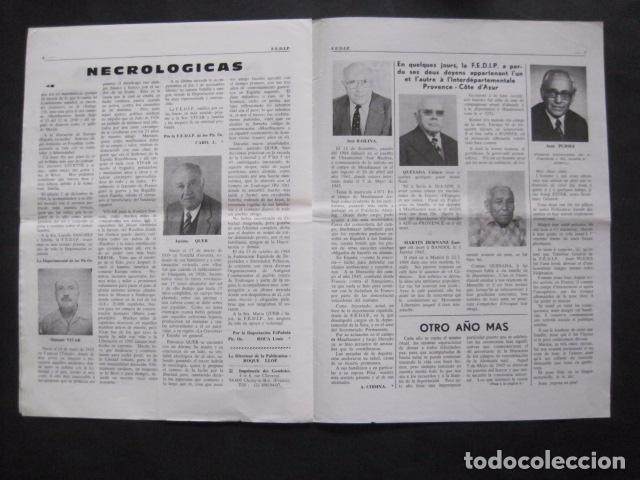 Militaria: HISPANIA- REVISTA DEPORTADOS E INTERNADOS POLITICOS - NUM. 83 - AÑO 1985 - VER FOTOS-(V- 10.936) - Foto 4 - 86157164